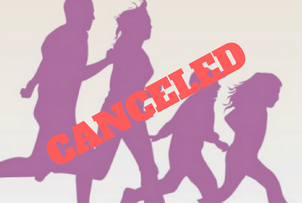 Cross Country Run Canceled October 1, 2021